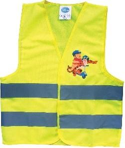 Reflexní vesta Medvídek Pú (Dětská bezpečnostní reflexní vesta Medvídek Pú)