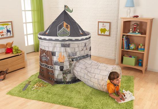 Dětský stan s tunelem HRAD (KidKraft) (Dětský stan s tunelem)