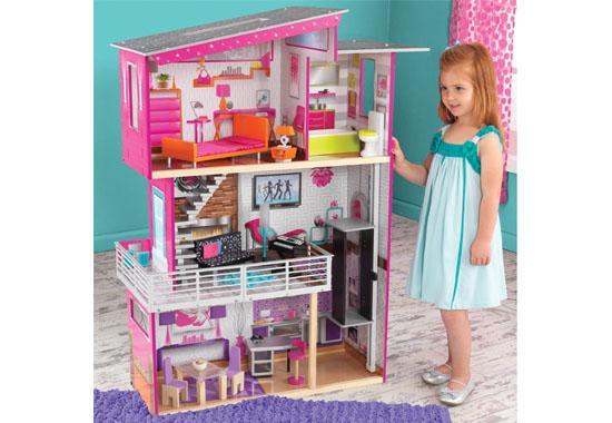 KidKraft Domeček pro panenky LUXURY 65871 (dřevěný domeček pro panenky LUXURY )