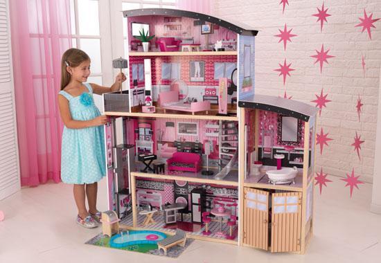 KIDKRAFT Mansion Sparkle domeček pro panenky (Domeček pro panenky Mansion Sparkle)