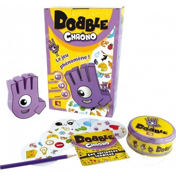 Dobble CHRONO (rodinná karetní hra zaměřená na postřeh a rychlost)