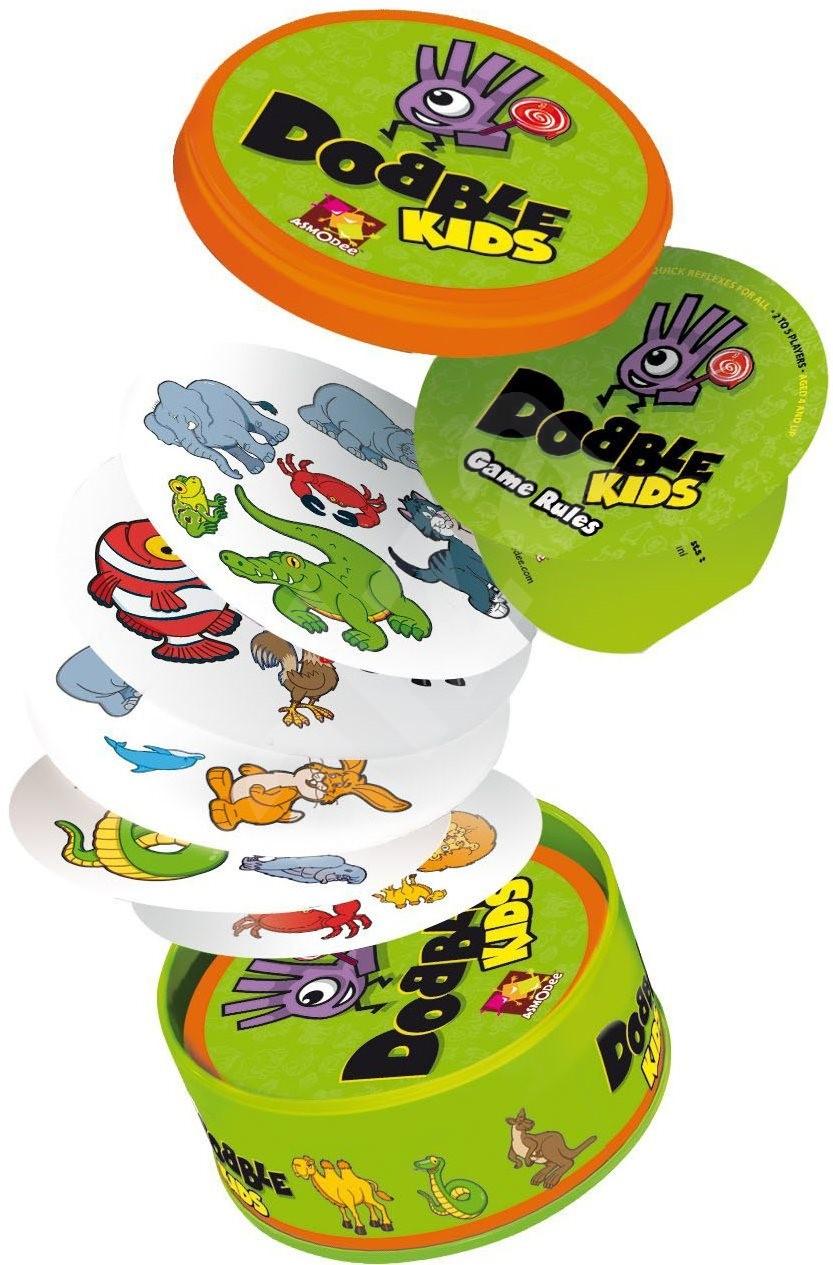 Dobble KIDS (Dětská karetní hra zaměřená na postřeh a rychlost)