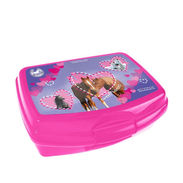 Svačinový box KONĚ 318719 (Krabička na svačinu HORSES)